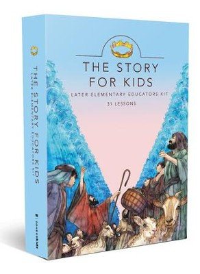 The Story for Kids with CDROM: Later Elementary    Educators Kit  -     By: Zondervan