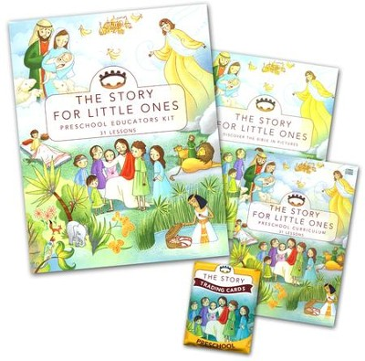 The Story for Little Ones with CDROM: Preschool   Educator Kit, 31 Lessons  -     By: Zondervan