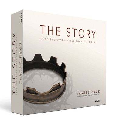 The Story, NIV: Family Pack - includes Getting Started Guide, The Story Adult Hardcover, The Story for Kids Softcover Bible and The Story for Children Storybook  -