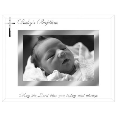Baby's Baptism Photo Frame  -