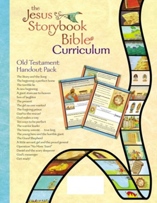 Jesus Storybook Bible Curriculum Kit Handouts, Old Testament  -     By: Sally Lloyd-Jones, Sam Shammas