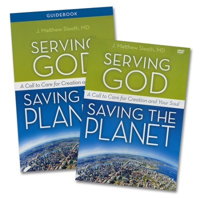 Serving God, Saving the Planet Guidebook with DVD: A Call to Care for Creation and Your Soul - Slightly Imperfect  -