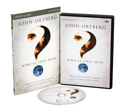 Who Is This Man? Participant's Guide with DVD: The Unpredictable Impact of the Inescapable Jesus - Slightly Imperfect  -