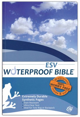 ESV Waterproof Bible, Blue Wave  -