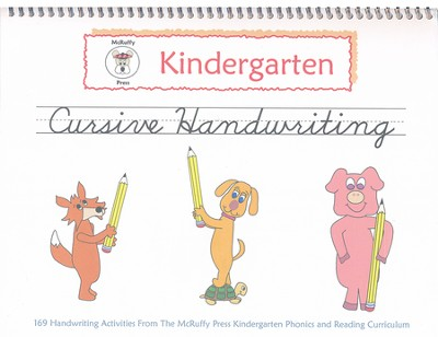 McRuffy Handwriting Series: Cursive--Grade K  -