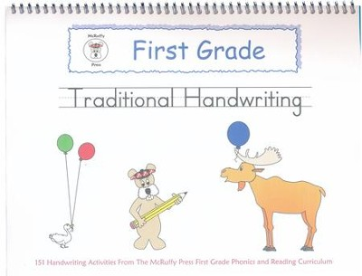 McRuffy Handwriting Series: Traditional--Grade 1  -