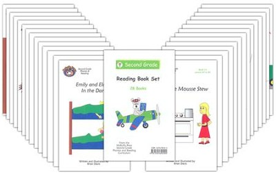 McRuffy Dynamic Phonics and Reading, Grade 2, Set of 28 Readers   -