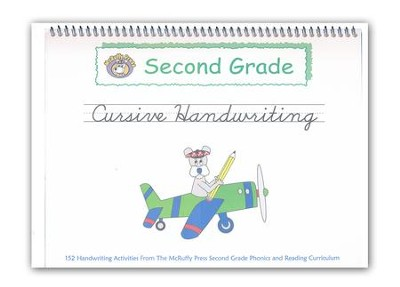 McRuffy Handwriting Series: Cursive--Grade 2   -