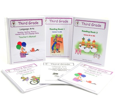 McRuffy Language Arts, Grade 3 Complete Kit   -