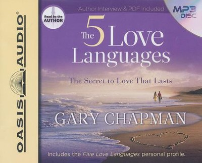 The Five Love Languages                      - Audiobook on MP3 CD-ROM  -     By: Gary Chapman