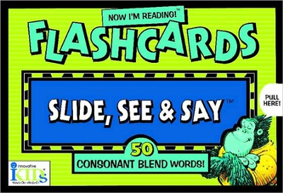 Slide, See & Say: 50 Consonant Blend Words! Flashcards   -     By: Nora Gaydos