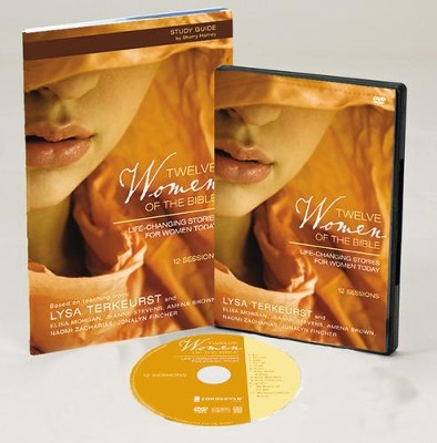 Twelve Women of the Bible Participant's Guide with DVD: Life-Changing Stories for Women Today  -     By: Lysa TerKeurst