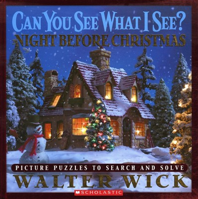 Can You See What I See? The Night Before Christmas  -     By: Walter Wick