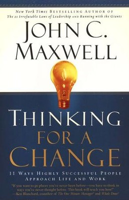 Thinking For A Change, Paperback   -     By: John C. Maxwell