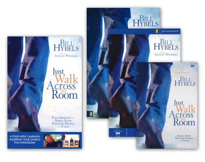 Just Walk Across the Room Curriculum Kit Updated: Simple Steps Pointing People to Faith  -     By: Bill Hybels
