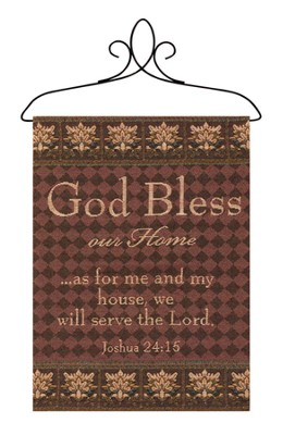 God Bless Our Home Banner  -
