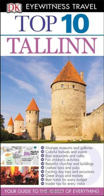 DK Eyewitness Top 10 Travel Guide: Tallinn  -