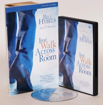 Just Walk Across the Room Participant's Guide with DVD: Four Sessions on Simple Steps Pointing People to Faith  -