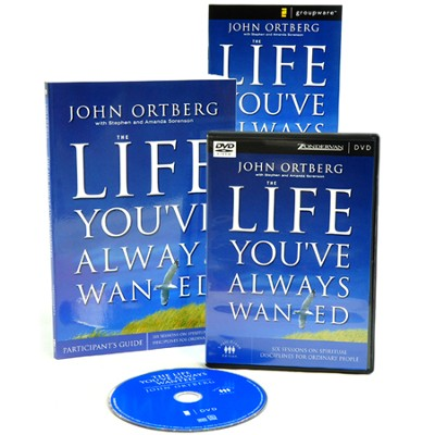 The Life You've Always Wanted Participant's Guide with DVD: Six Sessions on Spiritual Disciplines for Ordinary People  -     By: John Ortberg, Stephen Sorenson, Amanda Sorenson