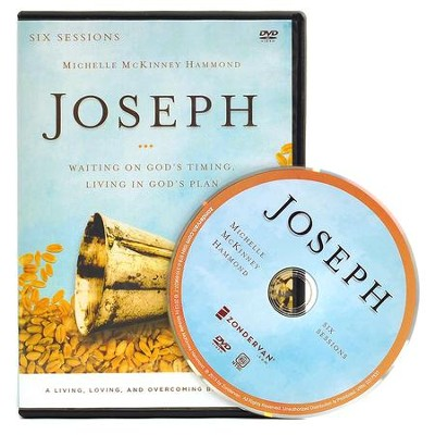Joseph: A DVD Study: Waiting on God's Timing, Living in God's Plan  -     By: Michelle McKinney Hammond