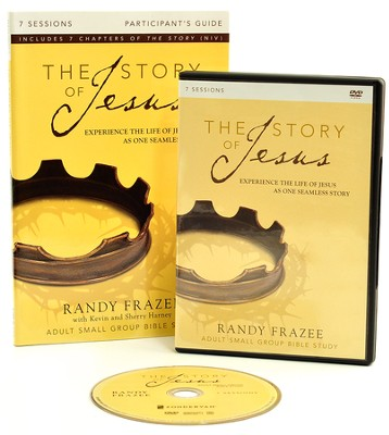 The Story of Jesus Participant's Guide with DVD: Experience the Life of Jesus as One Seamless Story  -