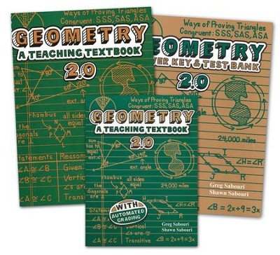 Geometry Teaching Textbooks Kit (Version 2.0)  -     By: Greg Sabouri, Shawn Sabouri