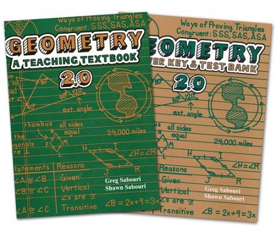 Teaching Textbooks: Extra Geometry Textbook and Answer Key  (Version 2.0)  -     By: Greg Sabouri, Shawn Sabouri