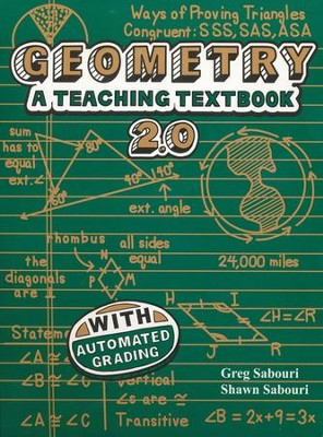 Teaching Textbooks Geometry Version 2.0 CD-Rom Set   -     By: Greg Sabouri, Shawn Sabouri