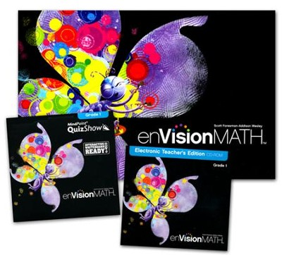 enVision Math Grade 1 Homeschool Bundle (2011 Edition)   -