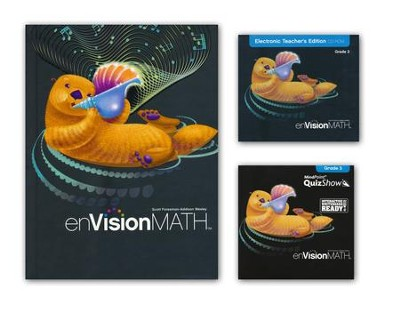 enVision Math Grade 3 Homeschool Bundle (2011 Edition)   -