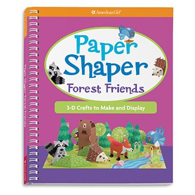 Paper Shaper Forest Friends  -     By: Mary Beth Cryan