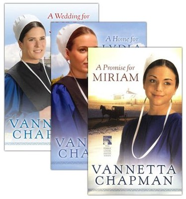 Pebble Creek Amish Series, Vols. 1-3   -     By: Vannetta Chapman