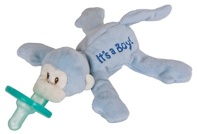 It's a Boy WubbaNub &#174 Pacifier Holder   -
