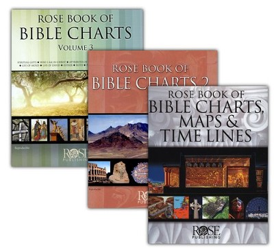 Rose Book of Bible Charts -  Volumes 1-3  -