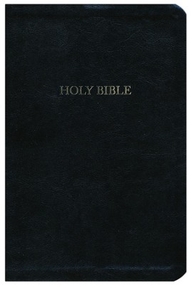 The A. W. Tozer Bible: KJV Version, Genuine leather, Black, Thumb Indexed  -