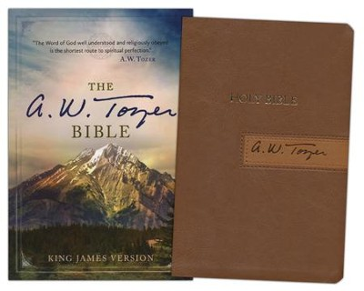 The A. W. Tozer Bible: KJV Version, Flexisoft leather, Brown/Tan  -
