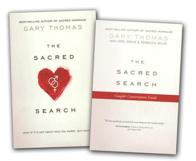 The Sacred Search, book and couple's conversation guide   -     By: Gary Thomas