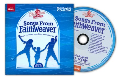 KidsOwn Worship: Songs From FaithWeaver CD, Winter 2013  -