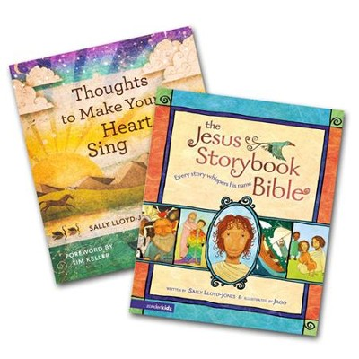 The Jesus Storybook Bible and Thoughts to Make Your Heart Sing Set  -     By: Sally Lloyd-Jones
