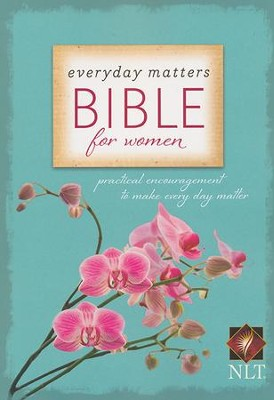 NLT Everyday Matters Bible for Women, softcover   -