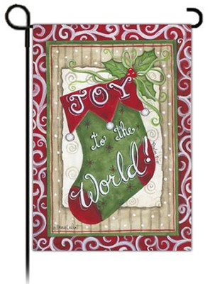 Joy to the World Flag, Small  -
