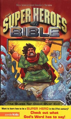 The NIRV Super Heroes Bible -- Damaged   -