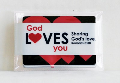 God Loves You Blessing Cards  -