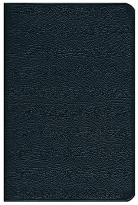 KJV Personal Concord Reference Bible, French morocco leather,  black  -