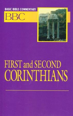 1 & 2 Corinthians, Volume 23, Basic Bible Commentary   -     By: Norman Madsen