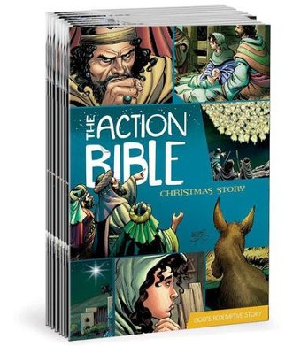 The Action Bible Christmas Story, Package of 25   -