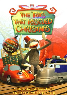 The Toys That Rescued Christmas, DVD   -