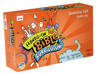 Hands-On Bible Curriculum Grades 3&4: Learning Lab, Spring 2014  -