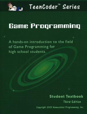 TeenCoder: Game Programming Course Student Textbook and CDROM, 3rd Edition  -