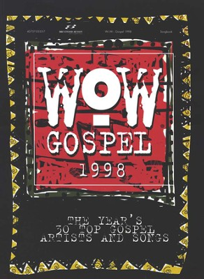 WOW Gospel 1998, Songbook   -     By: Various Artists